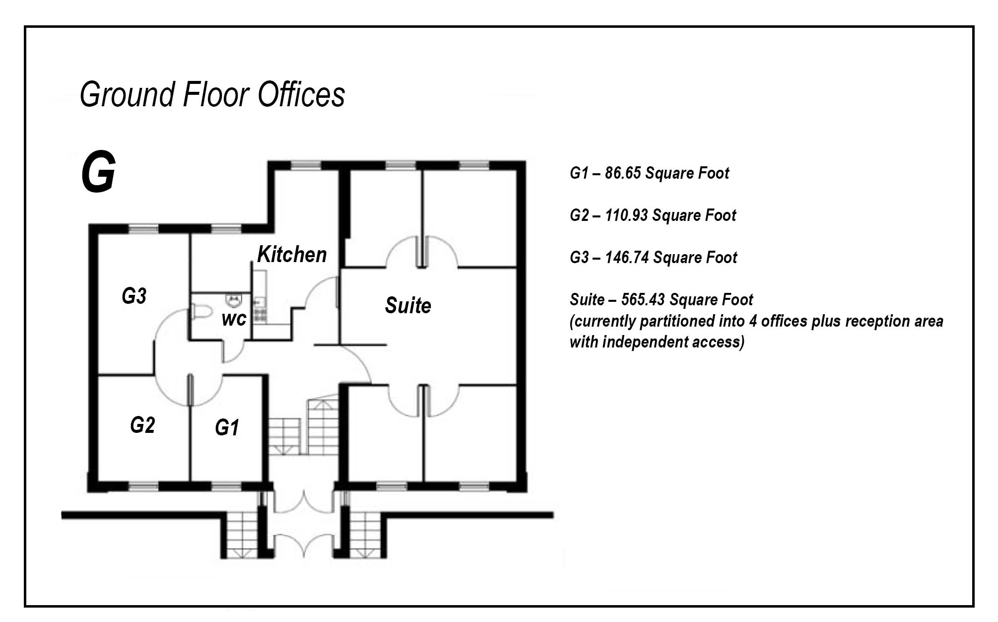 Modern, Well Equipped Offices To Rent In Truro